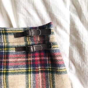 Vintage Boden plaid skirt